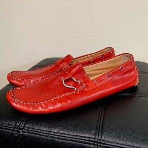 Becco Bucci Red Palm Beach Driver Shoes